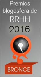 Premio Bronce Blogosfera a Ángel Largo en categoría RRHH